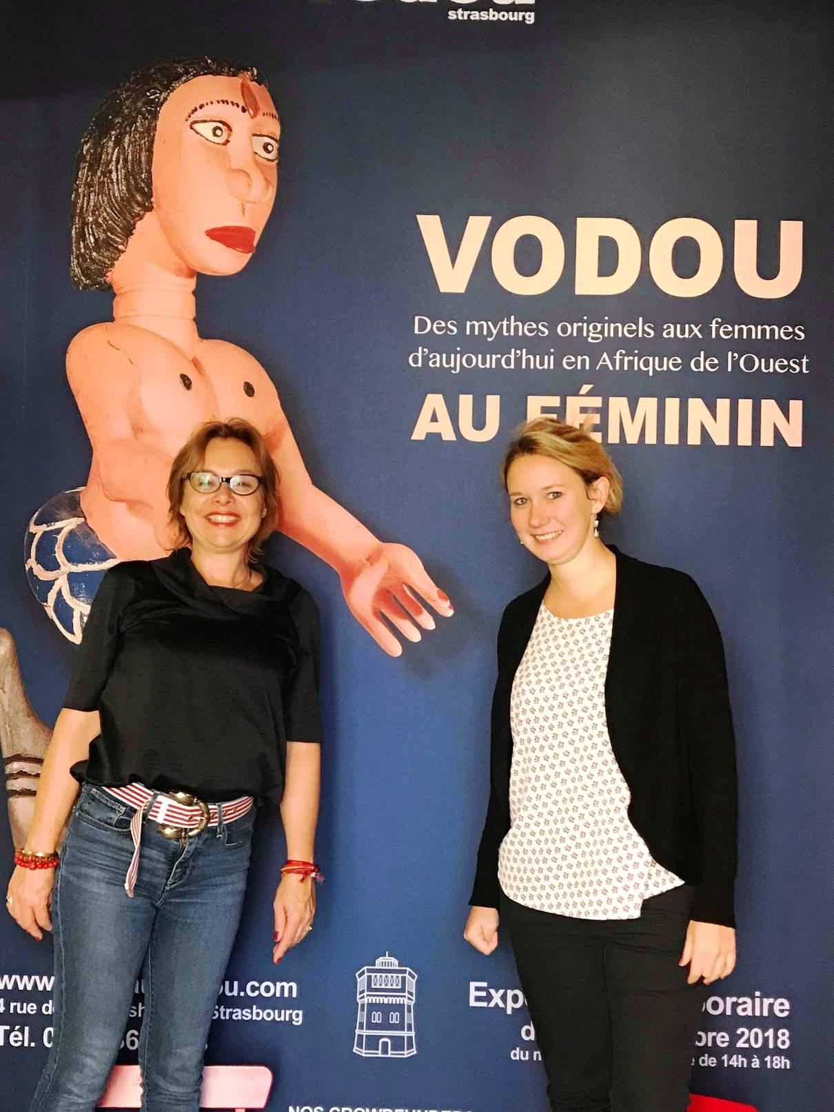 fin de l'expo Vodou au féminin