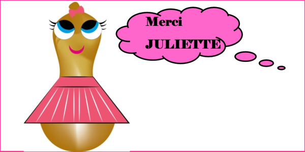Merci juliette