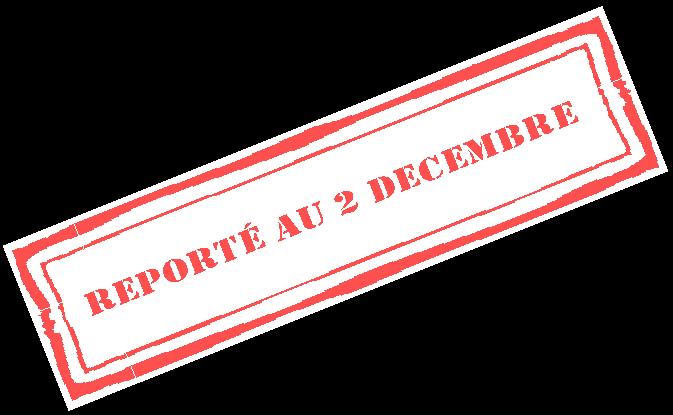 Reporte au 2 decembre