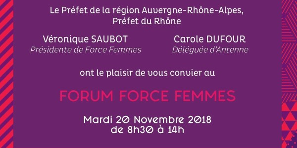 Forum force femmes 20 11 2018