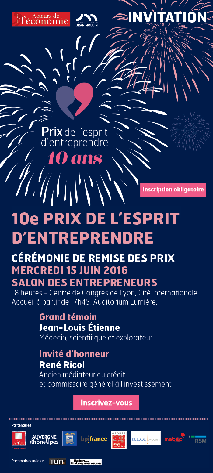 Invitation ceremonie prix 2016