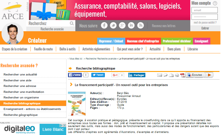 Lefinancementparticipatif apce
