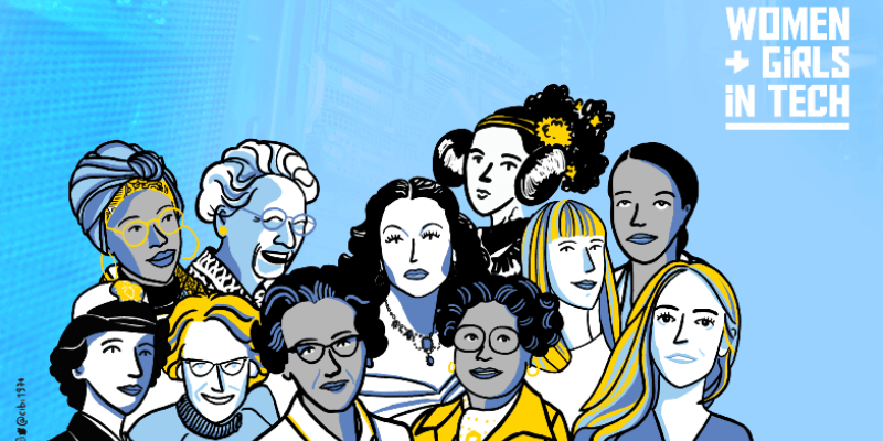 Women et girls in tech